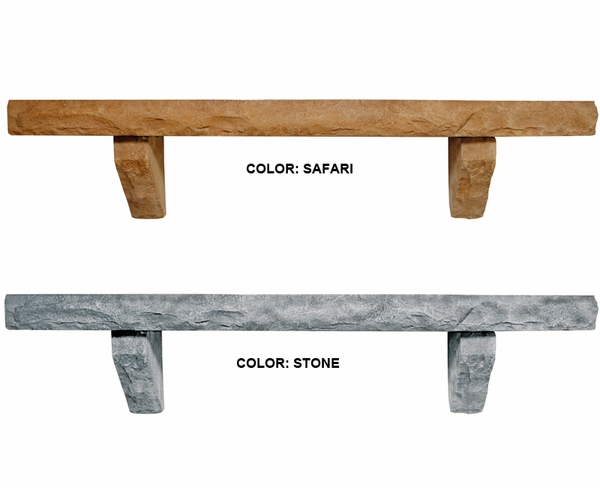 Perfection Cast Stone Mantel Shelf